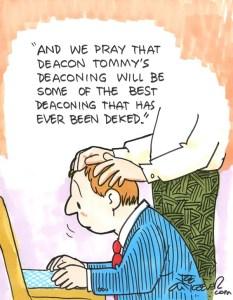 deaconing
