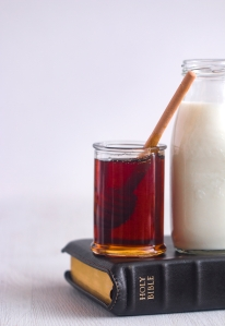Milk and Honey - Sweet and Dairy and a Symbol of Prosperity